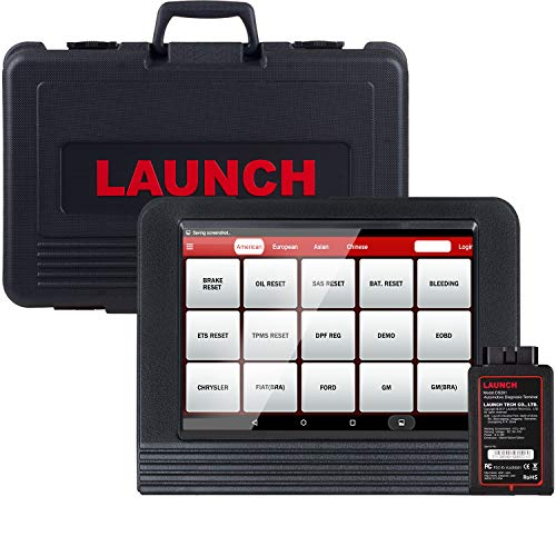 LAUNCH X431 V PRO Bidirectional Scan Tool Full System Scan with Key Programming,Reset Functions Including ABS Bleeding,TPMS,EPB,SAS,BMS,ECU Coding,Injector Coding, Full Connector Kit- Free Update ()