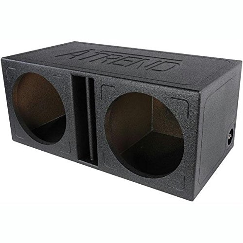 Atrend TL-12DV Atrend Series 12-Inch Dual Slammer Vented Divided Enclosure