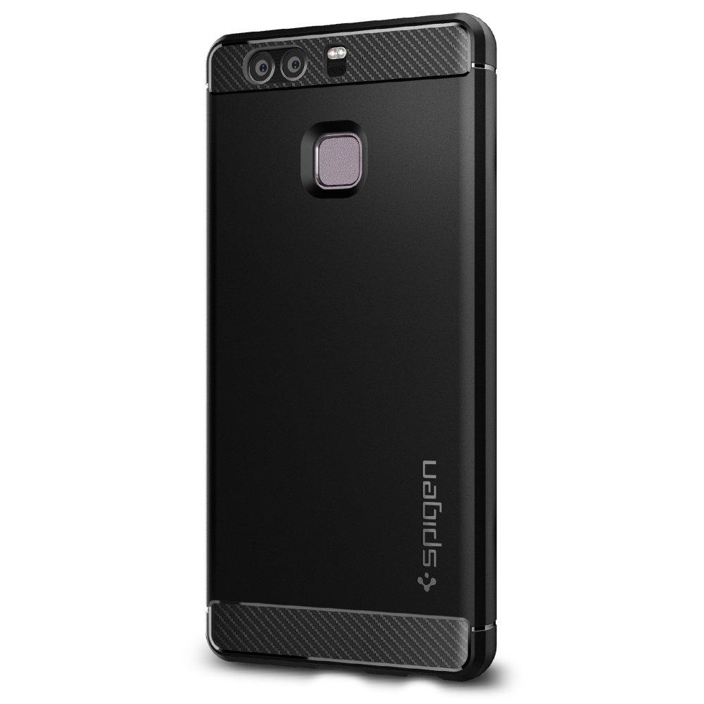 Spigen LCS Funda para Huawei P color negro