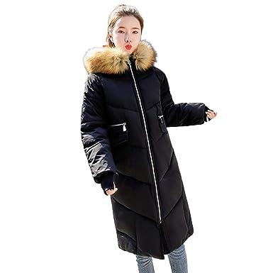 Winterjacke Damen Dasongff Wintermantel Elegante