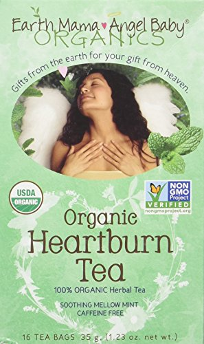 Heartburn Tea, Og, 16 ct ( Multi-Pack) Earth Mama Heartburn Tea
