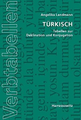 Türkisch: Tabellen zur Deklination und Konjugation