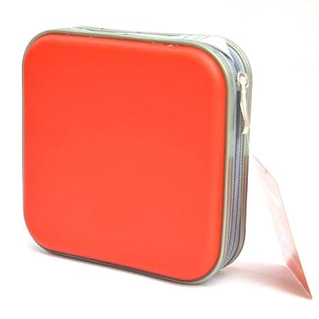 Yeqoo - Estuche portátil para CD y DVD (40 discos, caja rígida ...