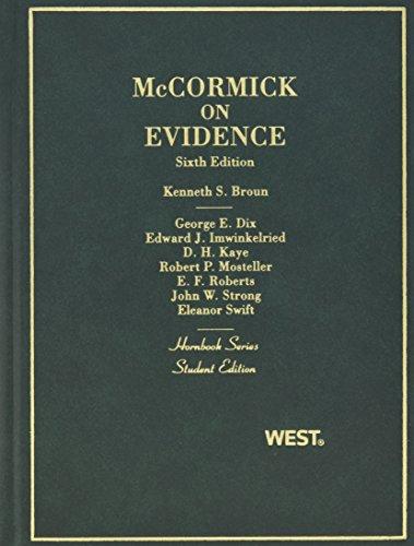 Evidence (Hornbook)