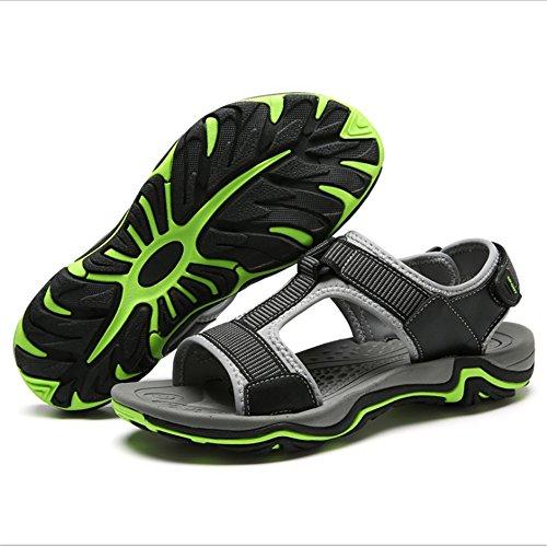 da Sandal spiaggia Men's 5 CM Scarpe Antiscivolo pantofole Dimensione 1 EU 3 27 Grigio 0 39 Wagsiyi Sports Grigio 24 Colore Outdoor E Sandali Confortevoli ZqawE5