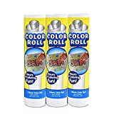 "8"" x 6.6' Kids White Art Paper Roll for Sketching, Coloring, Painting, Drawing (Pack of 3)"