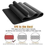 NATARIFITNESS..COM  513faxW6nzL._SS150_ StillCool TPE Yoga Mat Non Slip Fitness Exercise Mat High Density Padding to Avoid Sore Knees, Perfect for Yoga, Pilates…