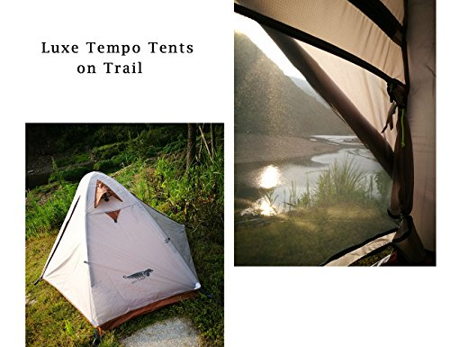 Luxe Tempo Single 1 Person Tent 4 Season Freestanding for C&ing 3.3LB with Footprint High  sc 1 st  C&ing Companion & Luxe Tempo Single 1 Person Tent 4 Season Freestanding for Camping ...