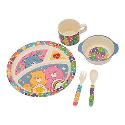 vandor-care-bears-5-piece-bamboo-mealtime-set-29004
