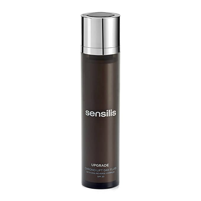 Sensilis - Upgrade Chrono Lift - Fluido de Día Antiedad y Reafirmante con SPF20 - 50 ml