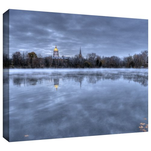 ArtWall 'The Basilica-Notre Dame' Gallery Wrapped Canvas Art by Dan Wilson, 18 by 24-Inch from ArtWall