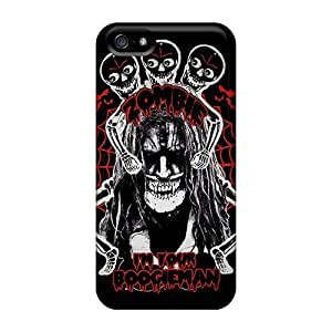 Anti-scratch And Shatterproof Rob Zombie Phone Case For Iphone 5/5s/ High Quality Tpu Case