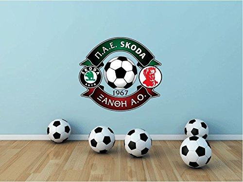 Skoda Xanthi FC Greece Soccer Football Sport Art Wall Decor Sticker 25