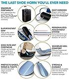 Professional Long Handled Metal Shoe Horn