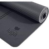 IUGA Eco Friendly Yoga Mat Alignment Lines, Free Carry...