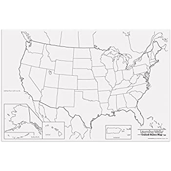 Amazoncom Pacon Pac78760 United States Giant Map 48 Width 72 - Giant-us-map