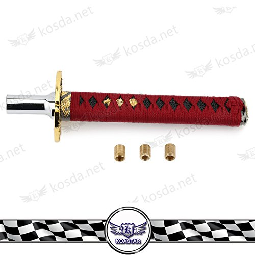 Kyostar Cm JDM Universal Samurai Sword Racing Shift Knob KATANA - Car sign with namesname that car manufacturer quiz by mcgcc