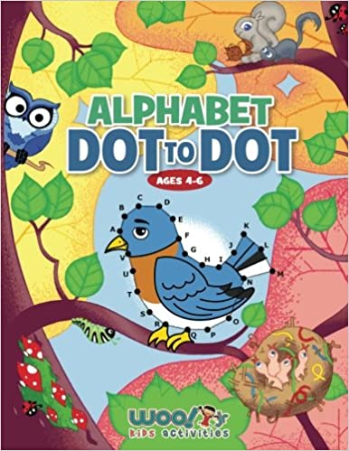 Alphabet Dot to Dot Ages 4-6: Reproducible Worksheets for ...