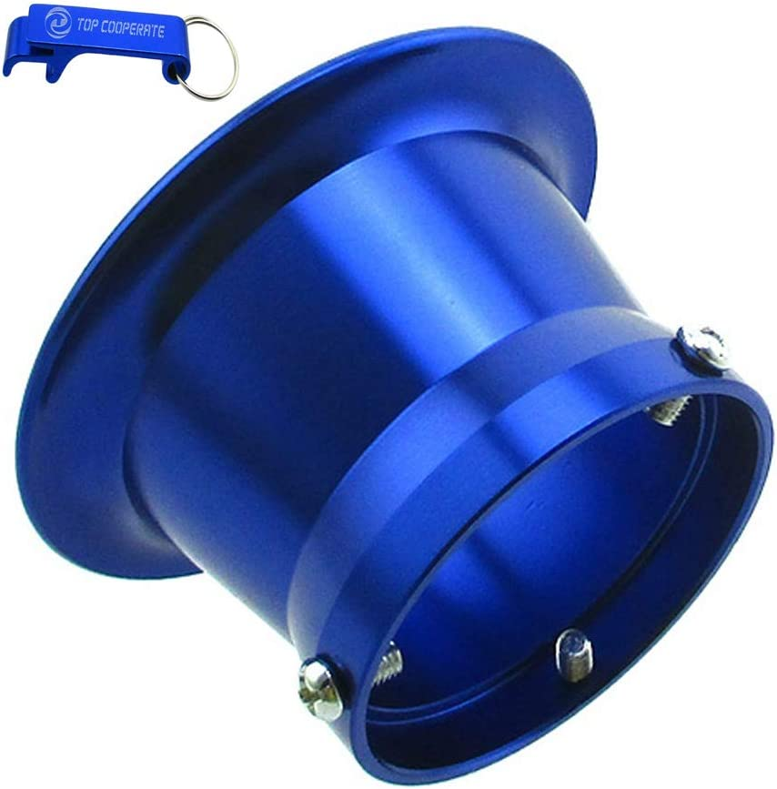 "8pcs 50mm Air Filter System Velocity Stack Funnel for PWK30 Carburetor Intake 2/"""