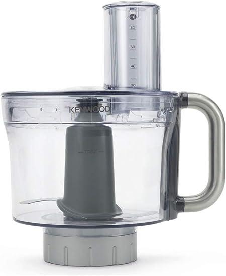 Kenwood KAH647PL Accesorio procesador de alimentos compatible con robot de cocina Chef y Major, color gris transparente: Amazon.es: Hogar