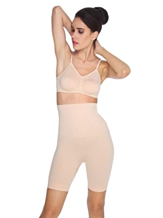 f98010c5f6302 C9 Low Control Thigh Shapewear  Amazon.in  Clothing   Accessories