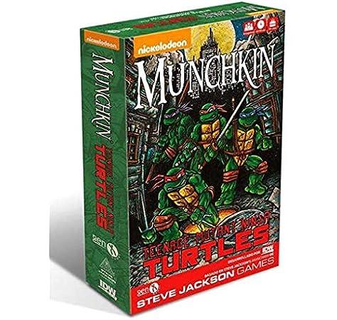 Gen X Games-Las Tortugas Ninja Juego de Mesa, Color Neutro: Amazon.es: Juguetes y juegos