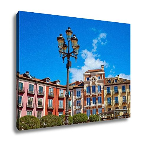 Ashley Canvas, Burgos Plaza Mayor Square In Castilla Leon Of Spain, Home Decoration Office, Ready to Hang, 20x25, AG5478769 by Ashley Canvas