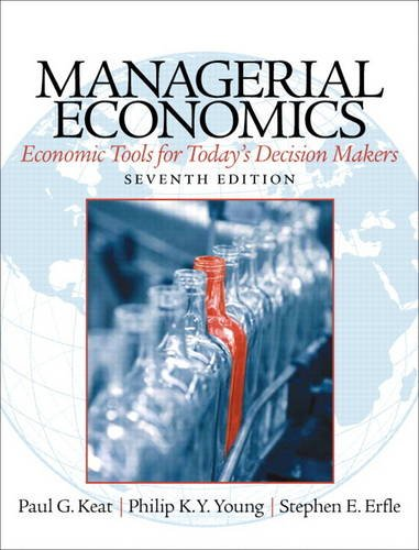 5 best managerial economics 7th edition paul keat for 2020