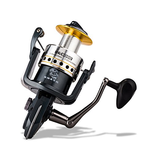 [11+1BB All-metal Saltwater Spinning Reel] HG Professional Outdoor Sport Metal Strong Corrosion Resistance Fishing Reels Left/Right Bearing High Speed Spinning Reel Gear For Fishing Enthusiasts