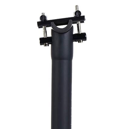 LRG Tija de Sillín Bicicleta Fibra de Carbono MTB Bicicleta de ...