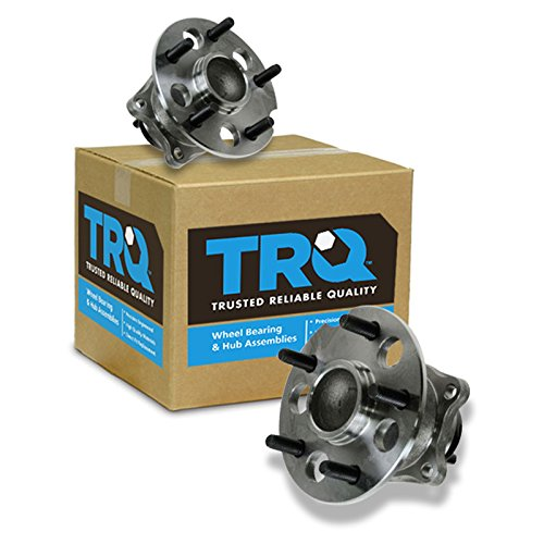 Wheel Bearing & Hub Assembly Rear Pair Set for 04-10 Toyota Sienna FWD 2WD