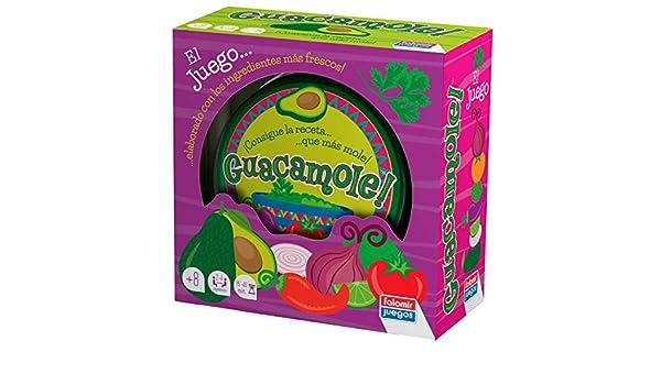 Falomir Guacamole. Juego de Mesa. Cartas, Multicolor (1): Amazon.es: Juguetes y juegos