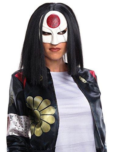 Suicide Squad Katana Costume (Rubie's Costume Co. Women's Suicide Squad Value Katana Wig, As Shown, One Size)