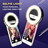 Ring Light for Camera [Rechargable Battery]Selfie LED Camera Light [36 LED] for iPhone iPad Sumsung Galaxy Photography Phones …