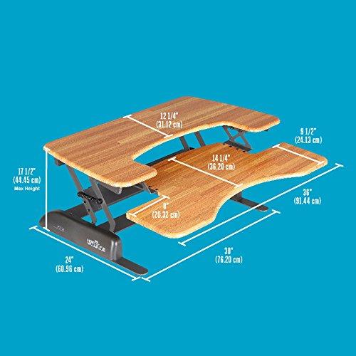 Height Adjustable Standing Desk Varidesk Pro Plus 36