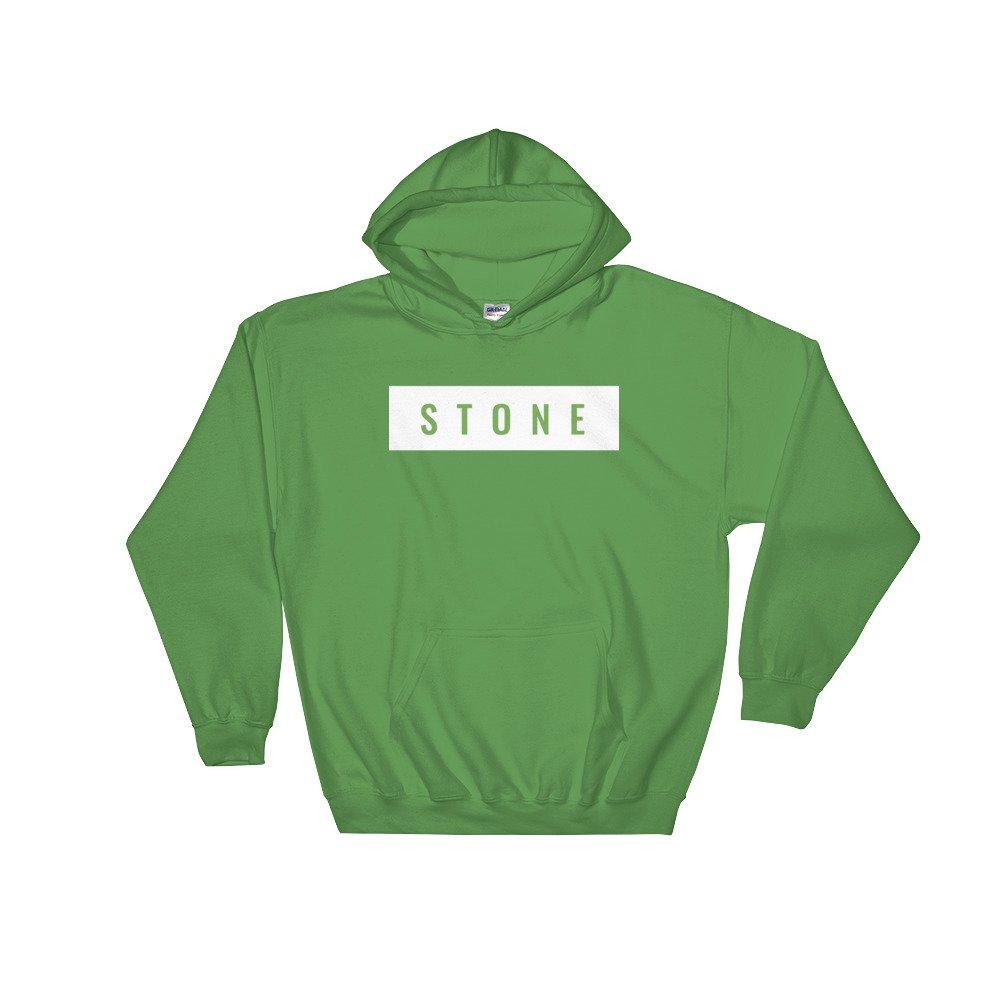 Stone Classic Green Hoodie