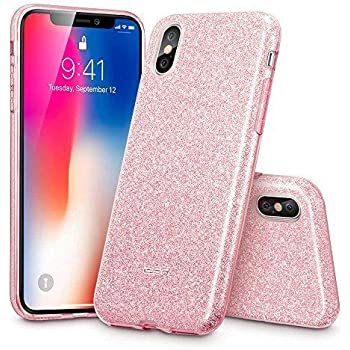 size 40 b526a 51b49 Amazon.com: MATEPROX iPhone Xs case,iPhone X Glitter Bling Sparkle ...