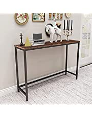 Sofa Tables End Table Coffee Snack Console Tables for Living Room Or Corridor Hallway, White Oak