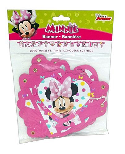 Minnie Mouse Bowtique Jointed Party Banner, 6.25 ()