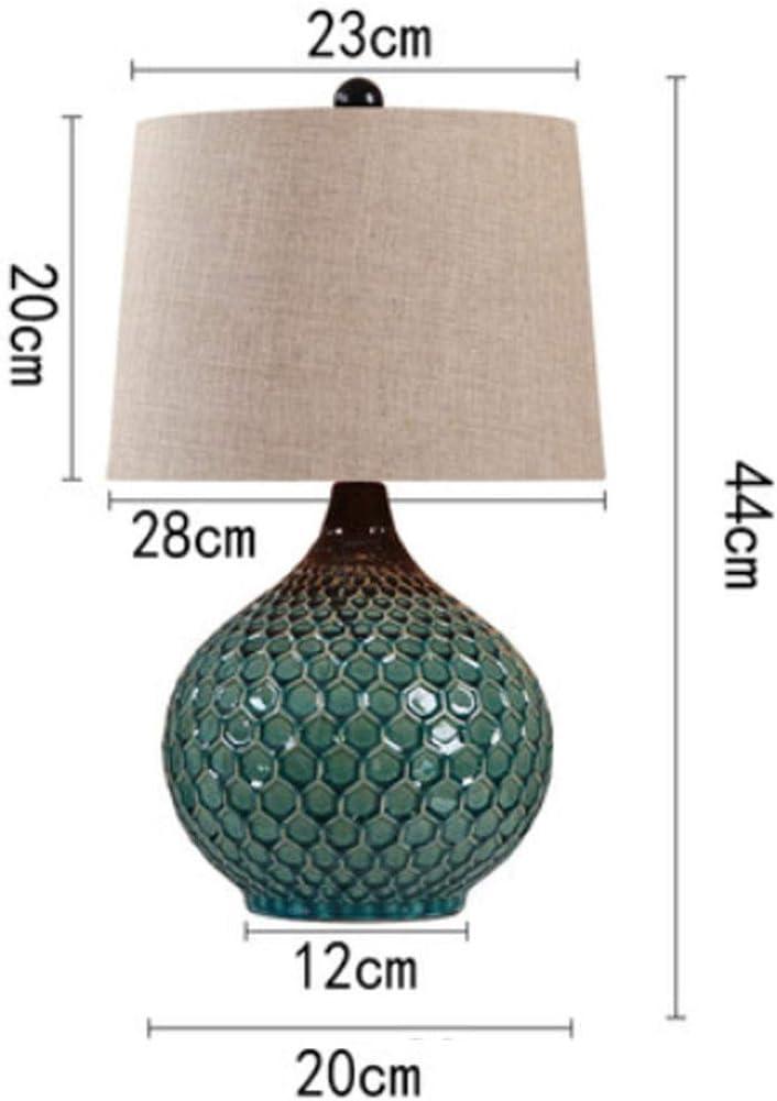 CAOYUYMX Lampe de Table en céramique Lampe de Table en