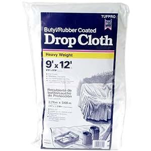 9x12 Butyl Rubber Coated Drop Cloth