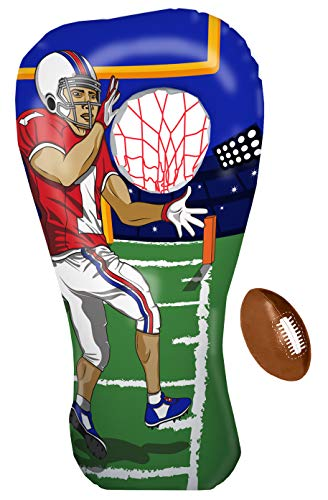 Inflatable Football Toss Target