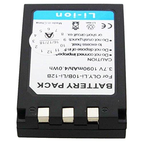 Energy 4047038416003 Bateria compatible olympus li-10b e li-12b 1090mah