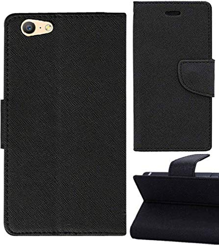brand new 8aacb 18747 ORC Oppo A57 Flip Cover-Luxury Mercury Diary Wallet Style, with Magnetic  Flip Cover for Oppo A57 (Black)