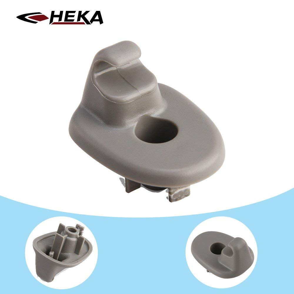 HEKA 2P Sun Visor Clip Replacement Retainer Fits for Jeep Liberty /& Dodge Nitro 1AR26BD1AA 1AR26DW1AA