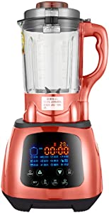 JXWWNZ Professional 62oz Countertop Blender with 2200-Watt Base and Total Crushing Technology for Smoothies, Ice and Frozen Fruit.