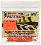 TRUEFLIGHT FEATHERS SHIELD CUT 5 LW ORANGE 100/PK.