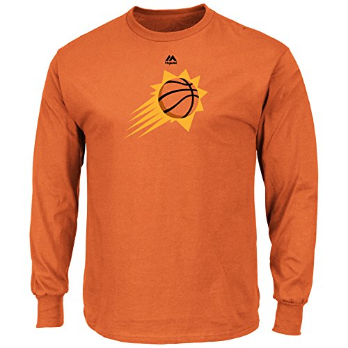 VF Phoenix Suns Majestic NBA Supreme Logo II Men's Long Sleeve T-Shirt (Small)
