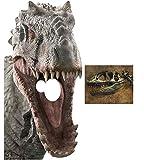 Indominus Rex Dinosaur Jurassic World Stand in Lifesize Cardboard Cutout Fan Pack, 189cm x 93cm Includes 8x10 Star Photo