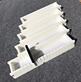 Lot of 4 HDPE Soap Loaf Making Mold and Multi Slot Soap Cutter 5 - 6 lb per mold